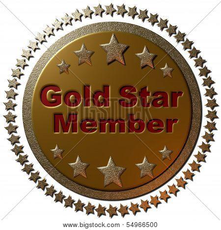 Gold Star Member (Stars)