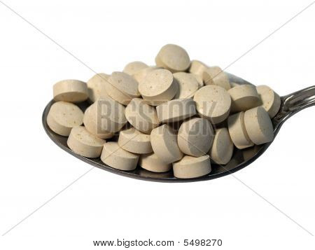 Full Spoon Of Tablets