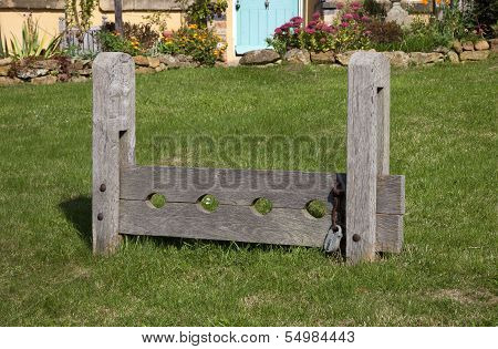 Village Stocks, England
