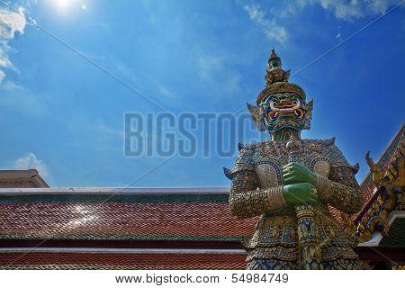 Demon Guardian, Grand Palace Bangkok