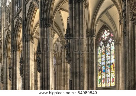 Cologne Dom Side Aisle