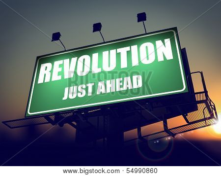 Revolution Just Ahead on Billboard.