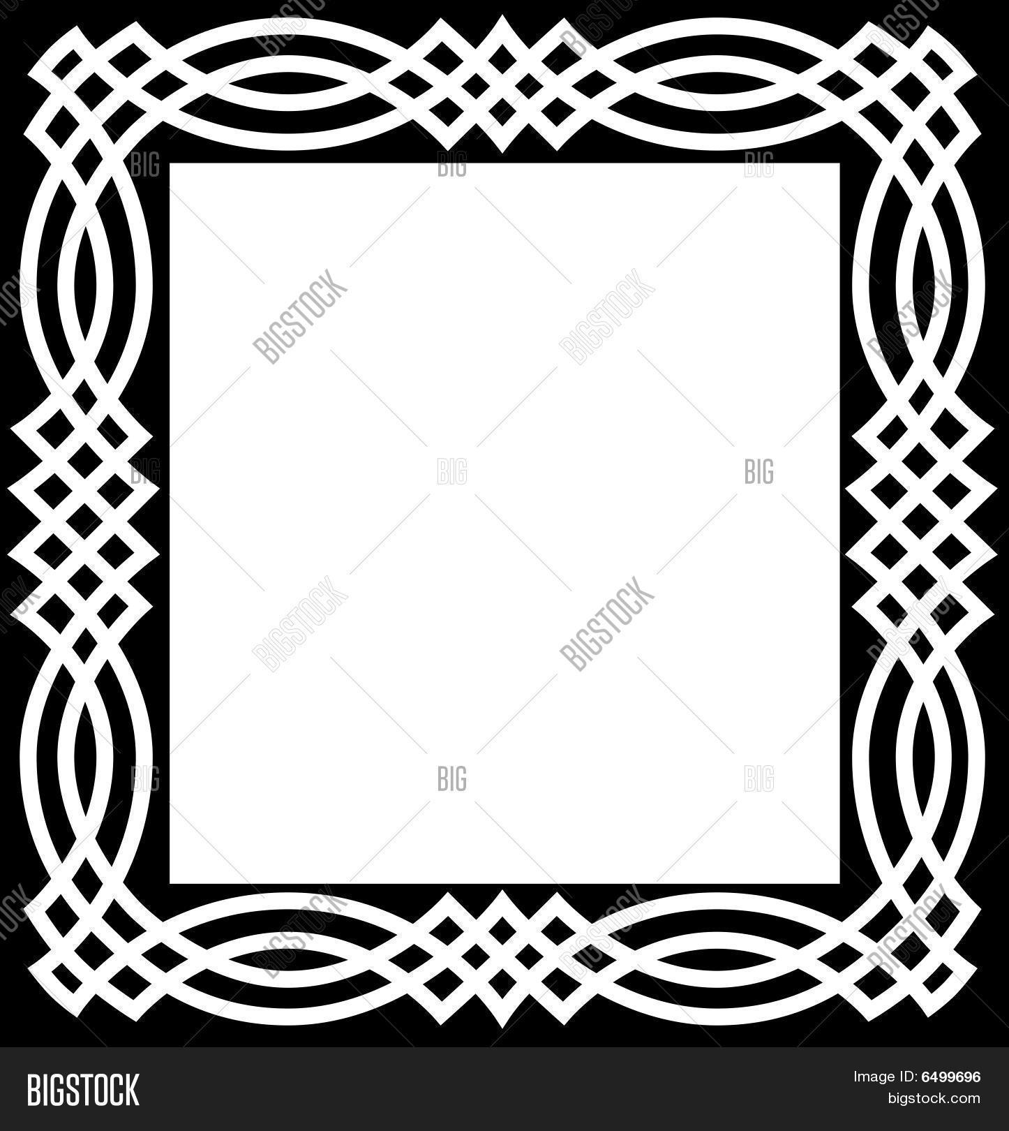 celtic knot border vector photo free trial bigstock rh bigstockphoto com celtic circle border vector free celtic circle border vector free