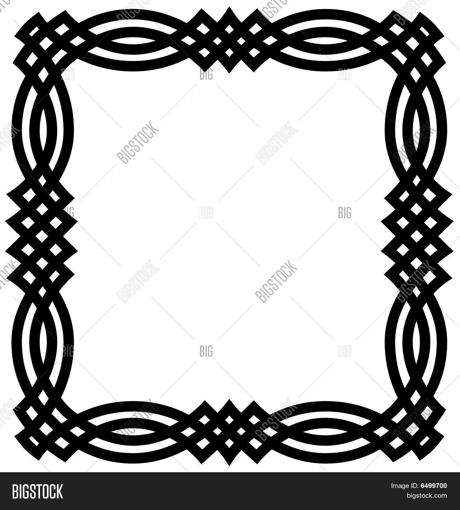 celtic knot border vector photo free trial bigstock rh bigstockphoto com celtic circle border vector free celtic pattern border vector