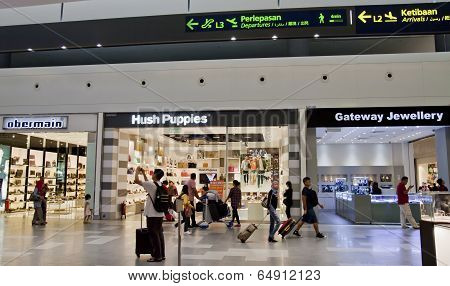 KLIA2 shopping centre