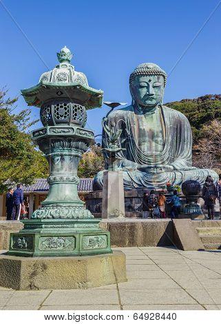 Daibutsu - The Great Buddha of Kotokuin Temple in Kamakura