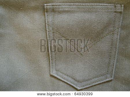 Green sailcloth background
