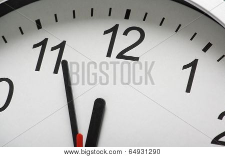 Clock at Midnight