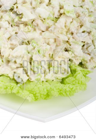 Close-up Chicken Salad