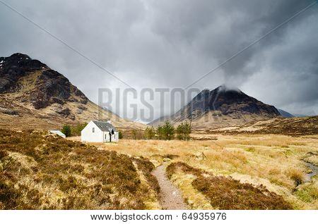 Mountain Hut In Glen Coe