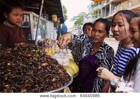 Fried Cockroaches