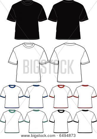 Herren t-Shirt-Vorlage