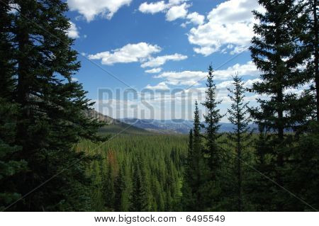landschaftlich Bergblick