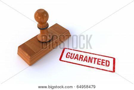 stamp guaranteed
