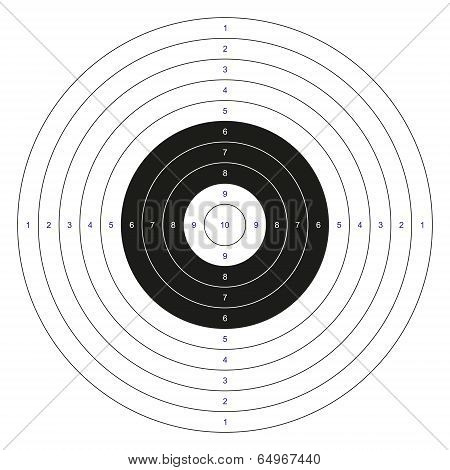 Classic Bullseye Target