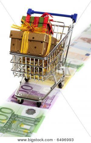 Shopping At Christmas