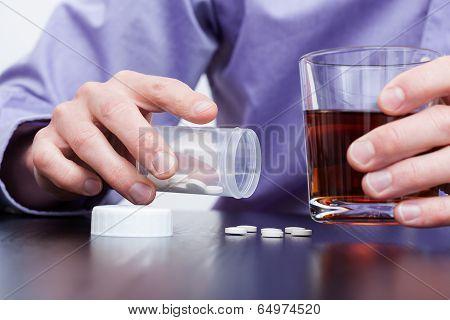 Man With Addictions