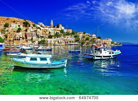 pictorial Greece series- Symi island, Dodecanes