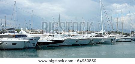 Antibes - Sailboats