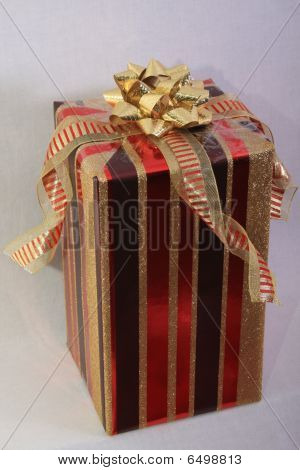 Elegant red present