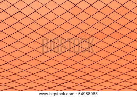 Modern Tiles Roof Background