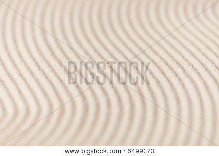 Abstract Background Of Sand With Furrows