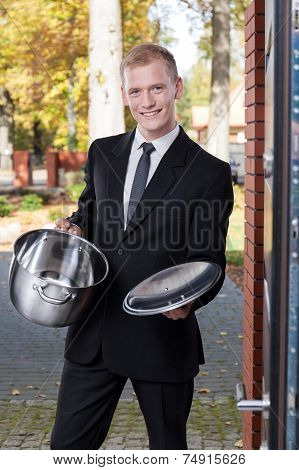 Solicitor Trying To Sell The Pot