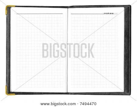 Blank Opened Notepad, High Resolution