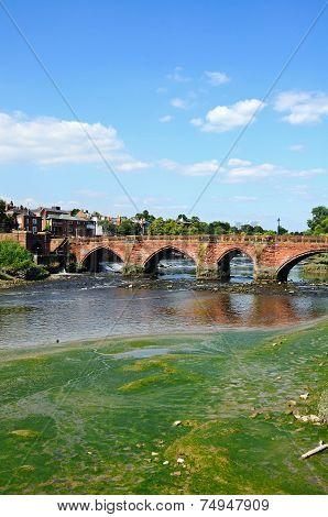 Old Dee Bridge, Chester.