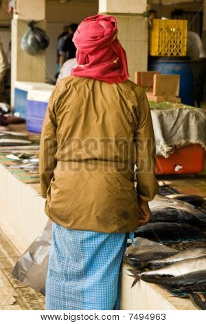 Fish Market In Oman