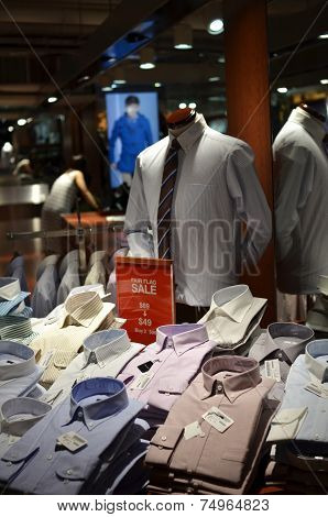 Retail Shop That Sell Business Suit