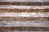 Old Wooden Staircase. Background and Texture for text or image. poster
