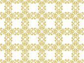 Gold Pattern Background poster