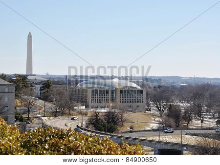 View of the center of Washington.