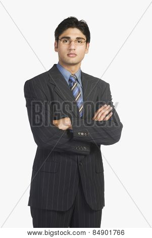 Young businessman wearing suits