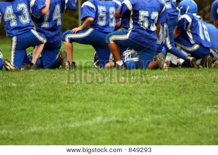Kneeling on the Field