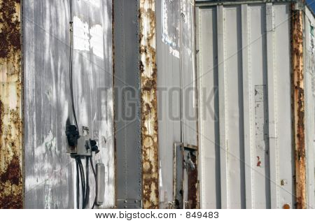 Abstract Of Derelict Tractor Trailers
