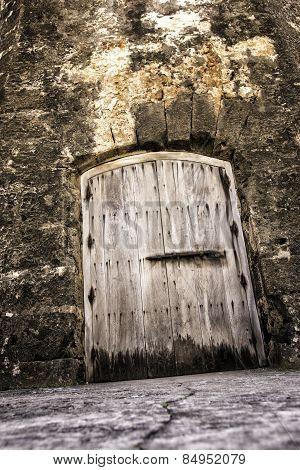 Creepy Dungeon Door