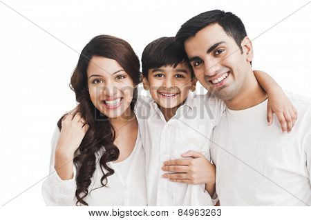 Portrait of a happy family