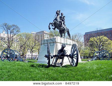 Washington Lafayette Park Andrew Jackson Memorial 2010