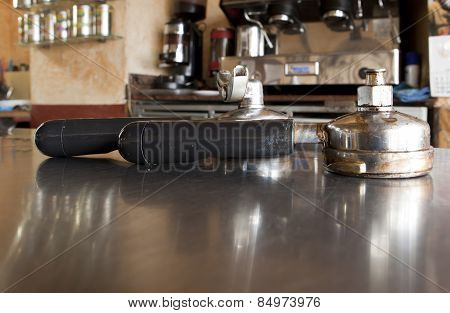 Holder For Coffee Machine