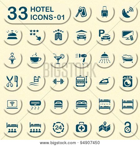 Jeans hotel icons
