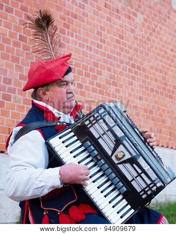 Poland Traditional Busker