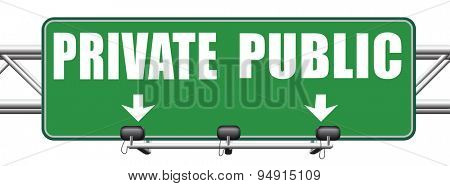 public or private school hospital area property domain or insurance road sign