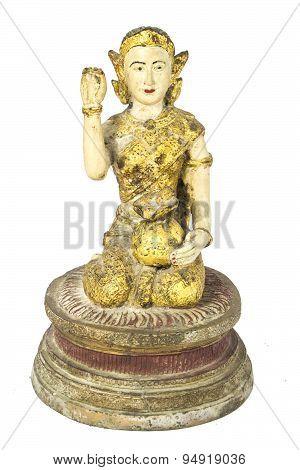 Girl mascot statue Help lucrative trade Belief in Thailand