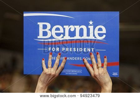 Bernie Sanders Sign