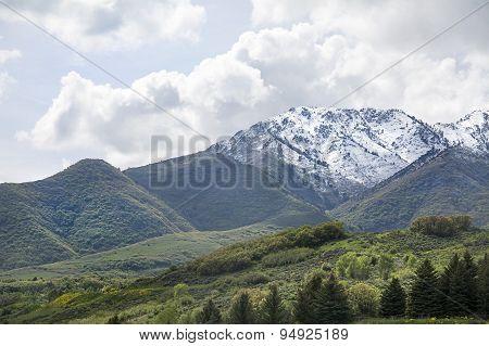 northern utah ogden peak mountain