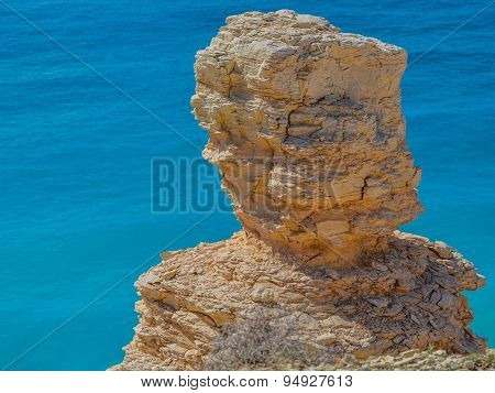 Natural Limestone Sculpture In Cyprus