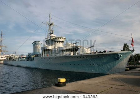 Old Battle Ship