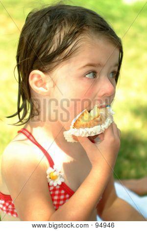Children-Eating Cupcakes